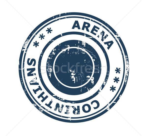 Arena Corinthians stamp Stock photo © speedfighter