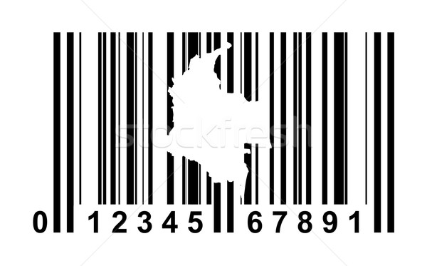 Colombia Bar code Stock photo © speedfighter