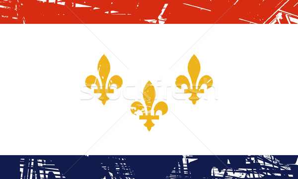 New Orleans flag Stock photo © speedfighter