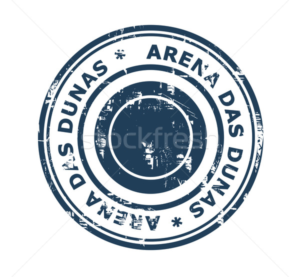 Arena das Dunas stadium stamp Stock photo © speedfighter