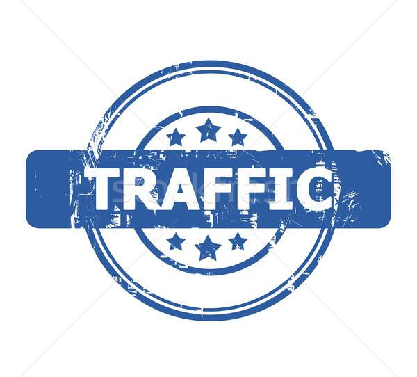Traffic Stamp Stock photo © speedfighter