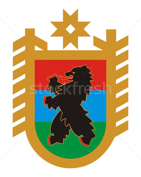 Karelia coat of arms Stock photo © speedfighter