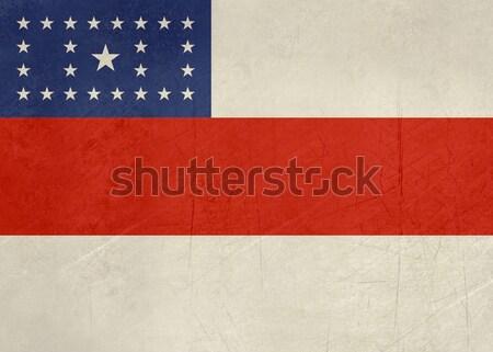 Grunge state flag of Amazonas in Brazil Stock photo © speedfighter