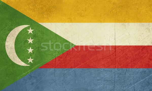 Grunge Comoros Flag Stock photo © speedfighter