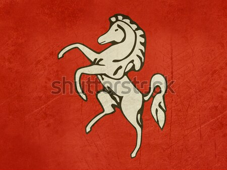 Flag of Kent county in England Stock photo © speedfighter