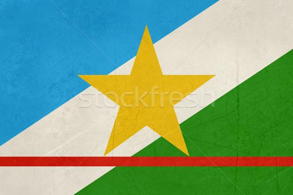 Grunge state flag of Roraima in Brazil Stock photo © speedfighter