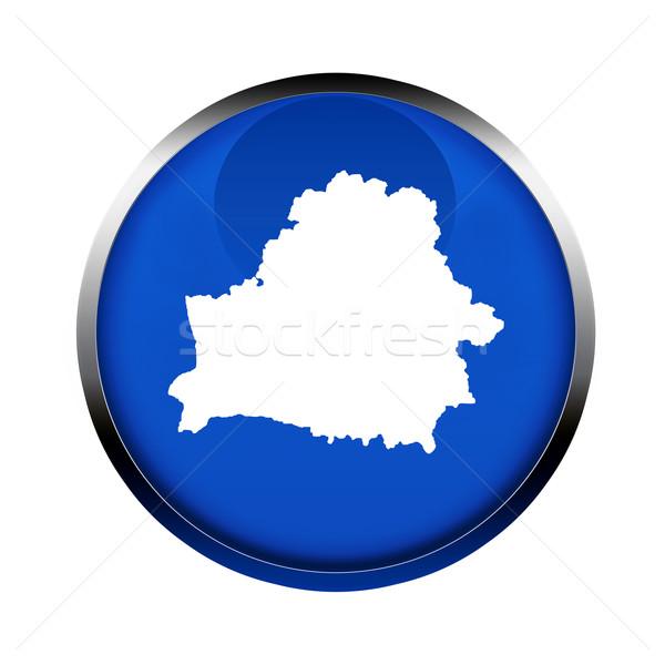 Wit-Rusland kaart knop kleuren europese unie Stockfoto © speedfighter