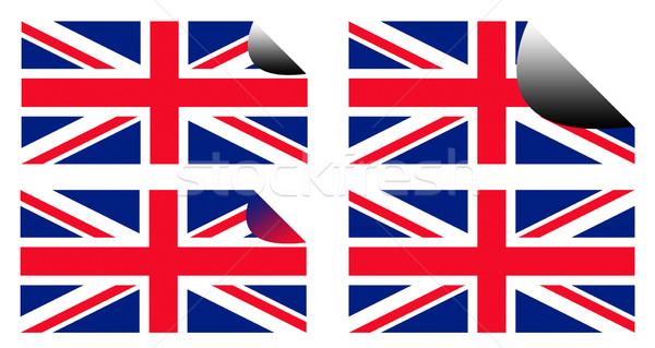 Royal Wedding labels or stickers Stock photo © speedfighter