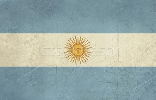Grunge Argentina Flag Stock photo © speedfighter