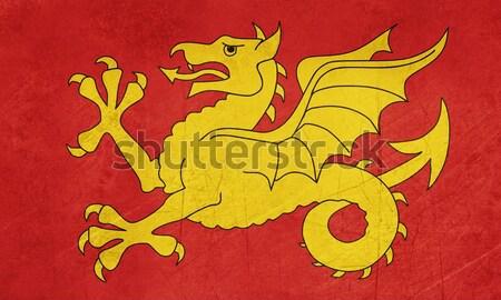 Bayrak bölge İngiltere resmi arka plan afiş Stok fotoğraf © speedfighter