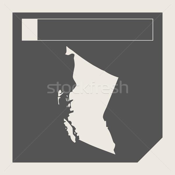 British Columbia state in Canada Stock photo © speedfighter