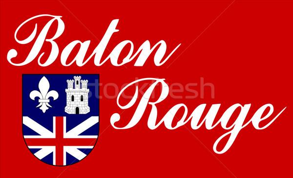 Baton Rouge flag Stock photo © speedfighter