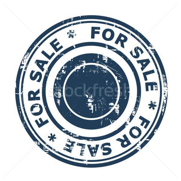 For sale concept stamp Stock photo © speedfighter