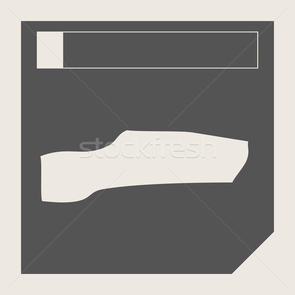 ガンビア 地図 ボタン 敏感な Webデザイン 孤立した ストックフォト © speedfighter