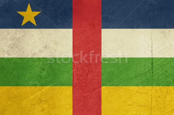 Grunge Central African Republic flag Stock photo © speedfighter