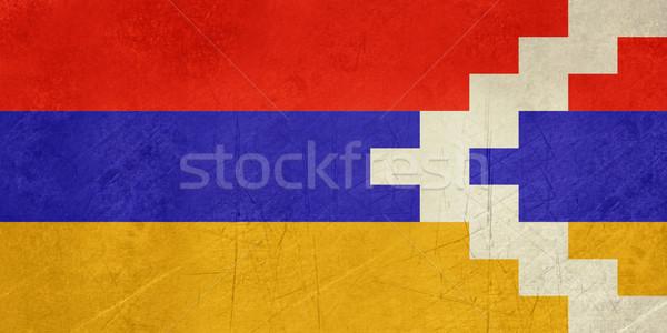 Grunge Nagorno-Karabakh flag Stock photo © speedfighter