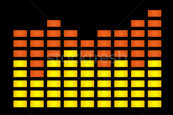 Graphic equalizer Stock photo © speedfighter