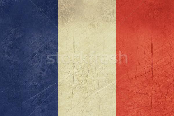 Grunge France Flag Stock photo © speedfighter