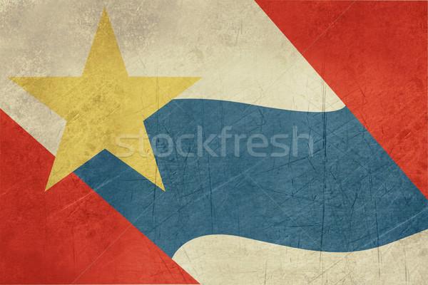 Zdjęcia stock: Grunge · miasta · banderą · USA · podróży · Ameryki