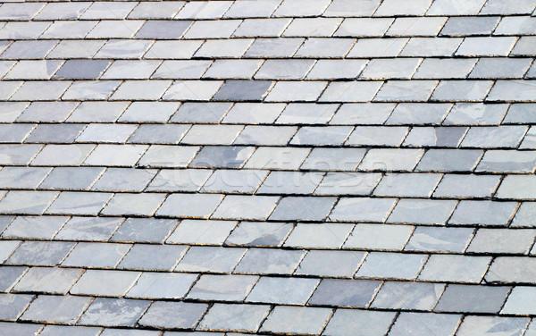 Slate tiled roof Stock photo © speedfighter