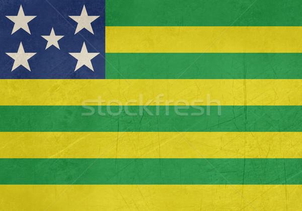 Grunge banderą Brazylia podróży Zdjęcia stock © speedfighter