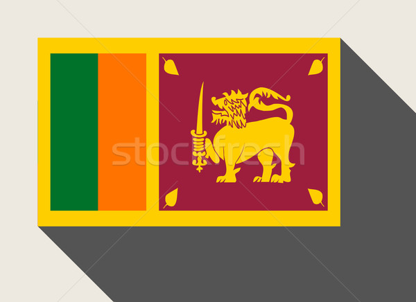 Sri Lanka flag Stock photo © speedfighter