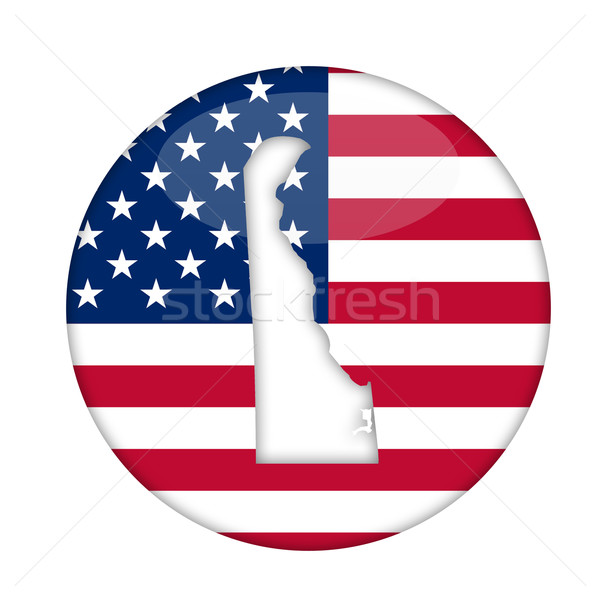 Delaware state of America badge Stock photo © speedfighter