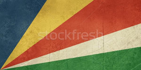 Grunge Seychelles Flag Stock photo © speedfighter