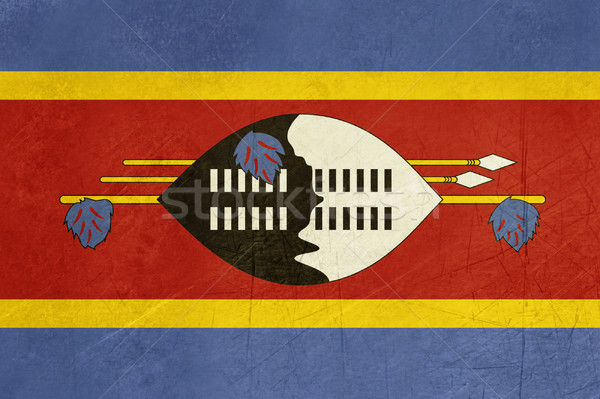 Grunge Swaziland Flag Stock photo © speedfighter