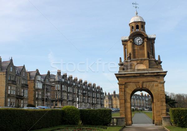 Reloj torre Inglaterra estructura Foto stock © speedfighter