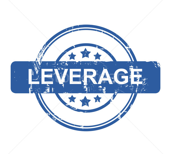 Leverage business concept stamp Stock photo © speedfighter