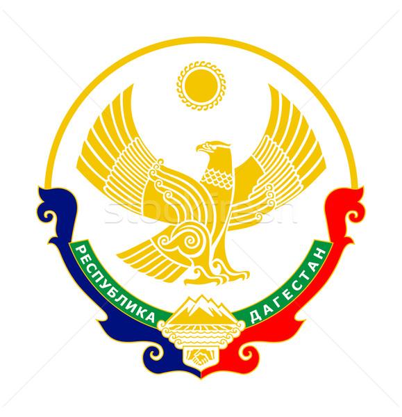 Dagestan coat of arms Stock photo © speedfighter