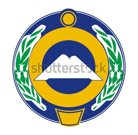 Karachay Cherkessia coat of arms Stock photo © speedfighter