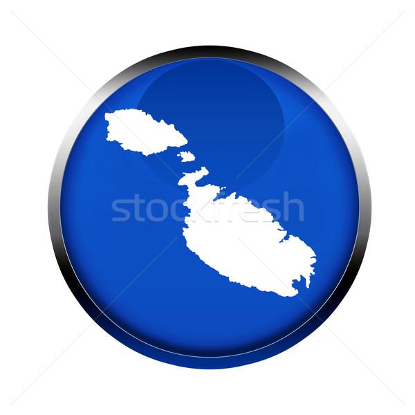Malta mapa botón colores europeo Unión Foto stock © speedfighter