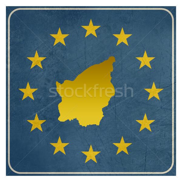 San Marino europese teken geïsoleerd witte sterren Stockfoto © speedfighter