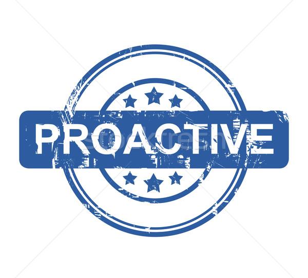 Stock photo: Proactive
