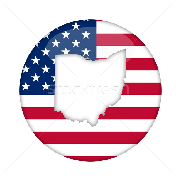 Ohio state of America badge Stock photo © speedfighter