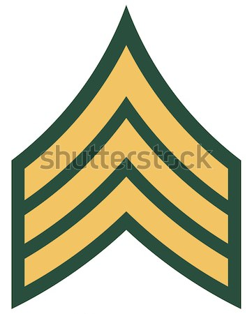 American Corporal insignia rank badge Stock photo © speedfighter