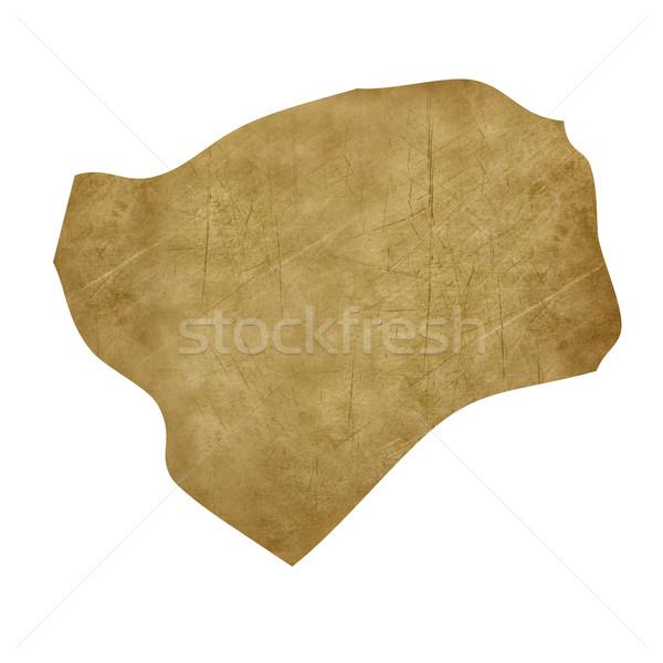 Grunge treasure harita harita hazine stil yalıtılmış Stok fotoğraf © speedfighter