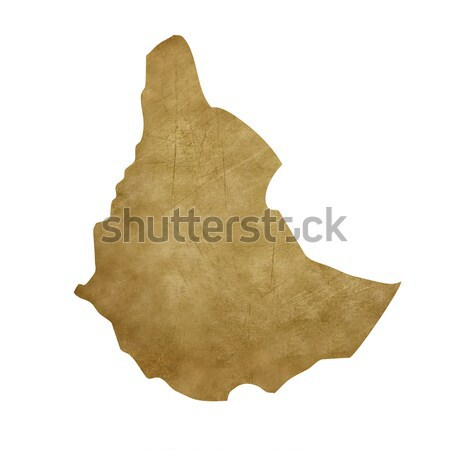 Textured map of Queensland Australia Stock photo © speedfighter