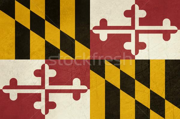Grunge Maryland state flag Stock photo © speedfighter