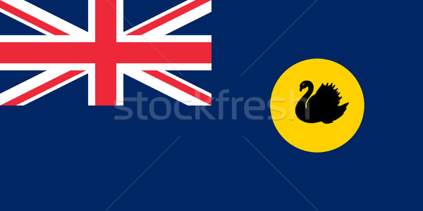 Western Australia state flag Stock photo © speedfighter