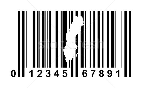Suécia código de barras compras isolado branco negócio Foto stock © speedfighter