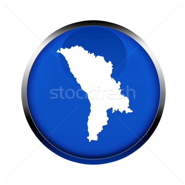 Moldova térkép gomb színek európai szövetség Stock fotó © speedfighter