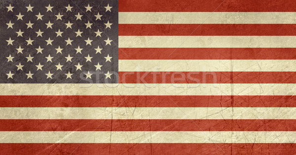 Grunge Egyesült Államok Amerika zászló vidék hivatalos Stock fotó © speedfighter