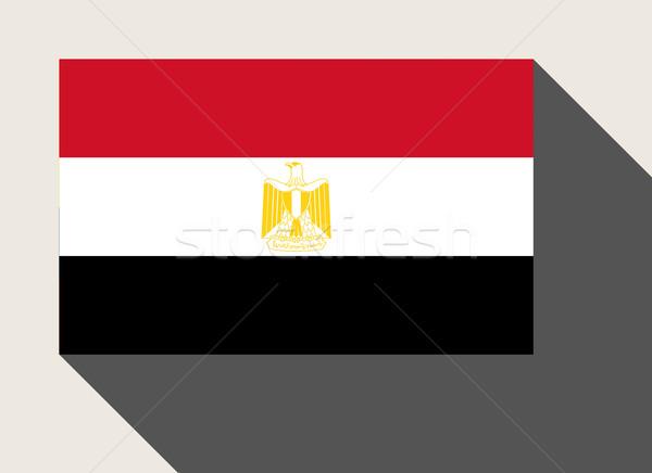 Egypt flag Stock photo © speedfighter