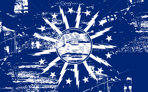 Buffalo City flag Stock photo © speedfighter