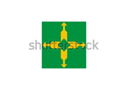 State flag of the Federal District in Brazil Stock photo © speedfighter