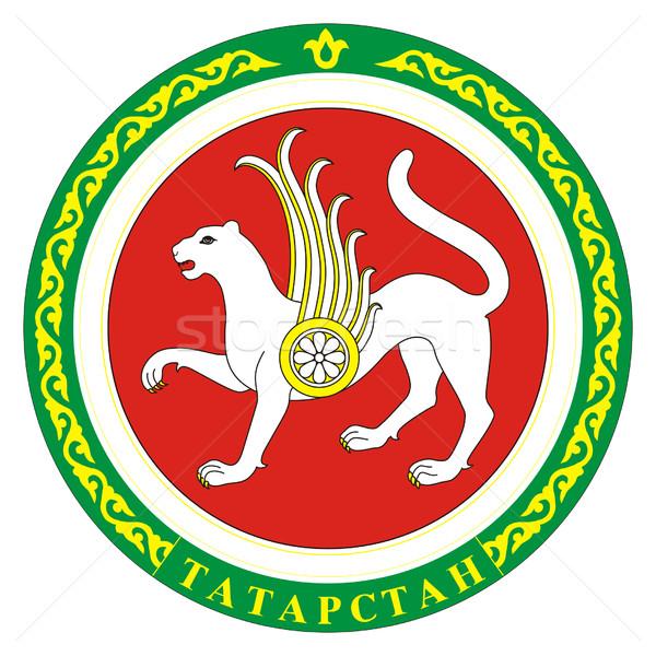 Tartastan coat of arms Stock photo © speedfighter
