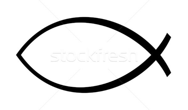 Christian Ichthus fish Stock photo © speedfighter